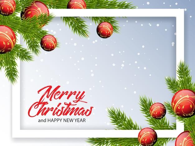 Weihnachtsgrüße illustration