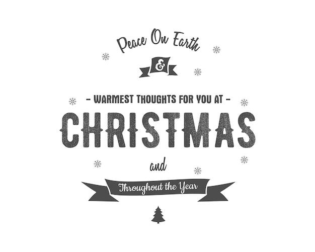 Weihnachtsgruß abzeichen