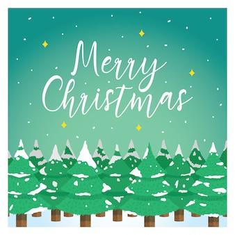 Weihnachtsgruss-karte