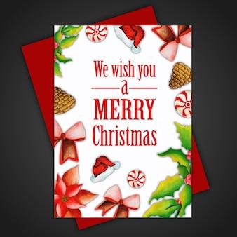 Weihnachtsgruß-karten