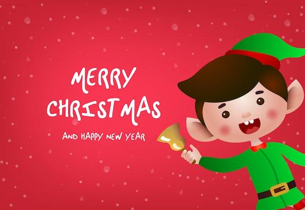 Weihnachtsgrußkarte design