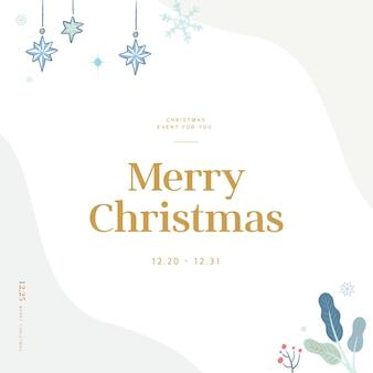 Weihnachtsgrußkarte mit emotionaler gefühlsillustration