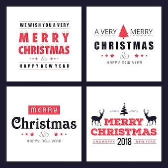Weihnachtsgrußkarte oder plakatdesign