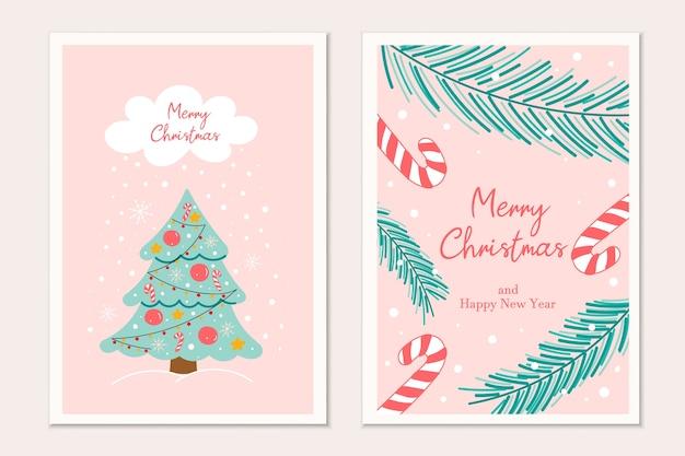 Weihnachtsgrußkartenentwürfe