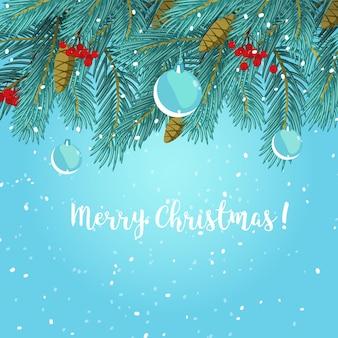 Weihnachtsgrußkartenhintergrundplakat