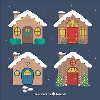 Weihnachtshaus-kollektion