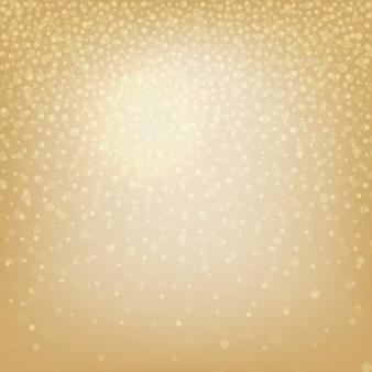 Weihnachtshintergrund mit bokeh-elementen