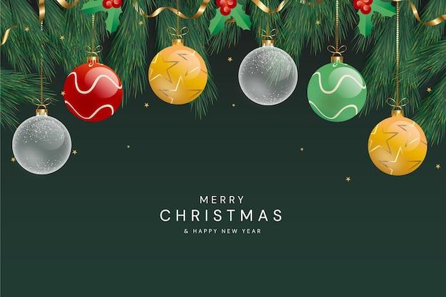 Weihnachtshintergrund mit farbverlauf