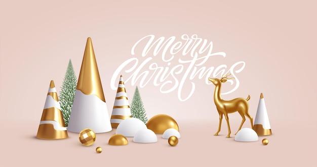 Weihnachtshintergrund mit weihnachtsschmuck
