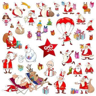 Weihnachtskarikaturen eingestellt