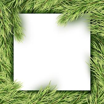 Weihnachtskarte mit copyspace.