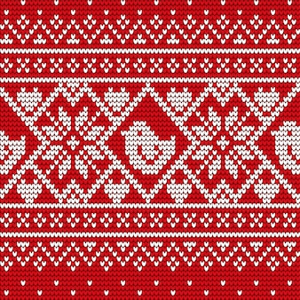 Weihnachtskarte oder -strickwaren mit winter verzieren vektor