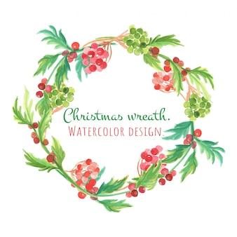 Weihnachtskarte und neues jahr