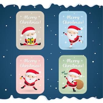 Weihnachtskarten für den weihnachtsmann