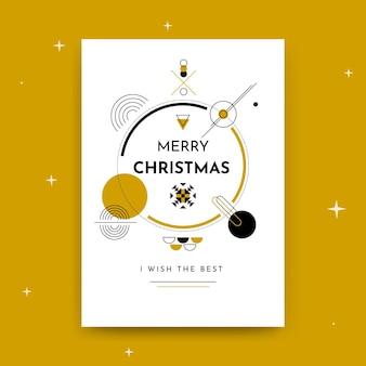 Weihnachtskartenschablone