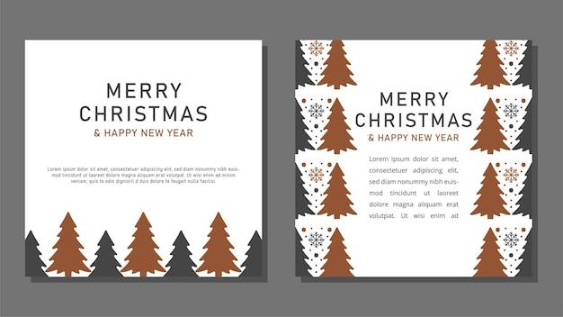Weihnachtskartenvorlagen.