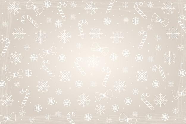 Weihnachtskonzept mit weinlesehintergrund