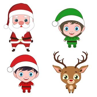 Weihnachtskostüm zeichentrickfiguren
