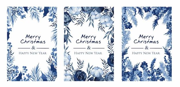 Weihnachtskranz mit fichten- und eukalyptuszweigen