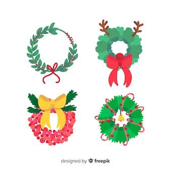Weihnachtskranz-sammlung