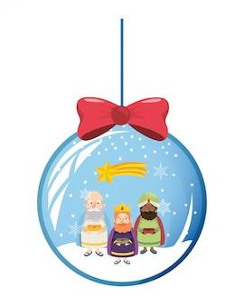 Weihnachtskrippe weihnachten