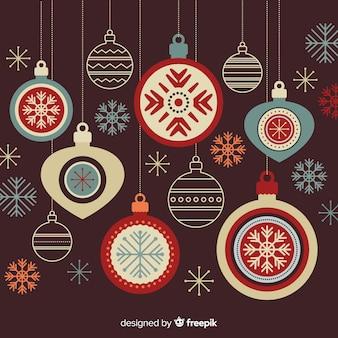 Weihnachtskugel-sammlung