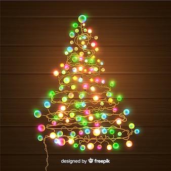 Weihnachtslichtbaum