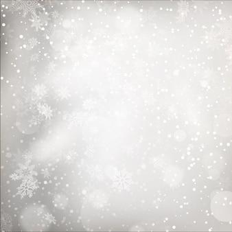 Weihnachtslichter auf grauem hintergrund.