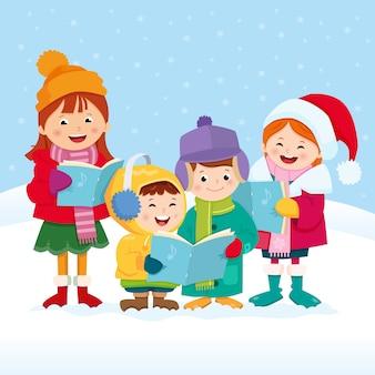 Weihnachtslied sänger