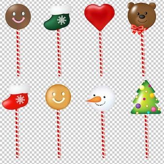 Weihnachtslutscher illustration