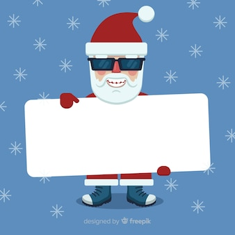 Weihnachtsmann-brettschablone