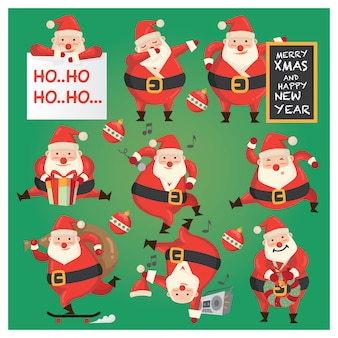 Weihnachtsmann character design