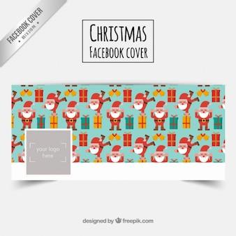Weihnachtsmann facebook abdeckung
