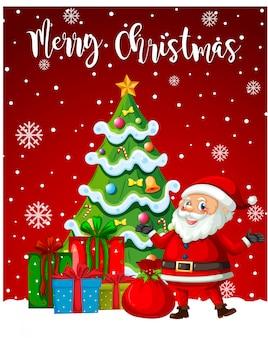 Weihnachtsmann frohe weihnachten vorlage