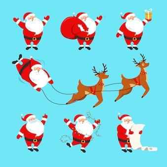Weihnachtsmann gesetzt.