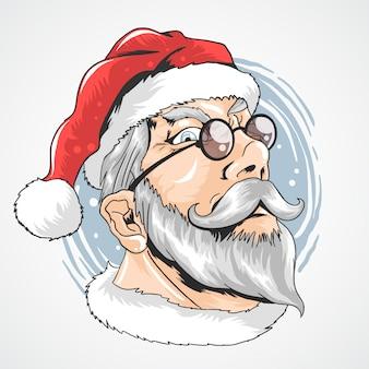 Weihnachtsmann-gläser