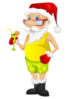 Weihnachtsmann im sommer