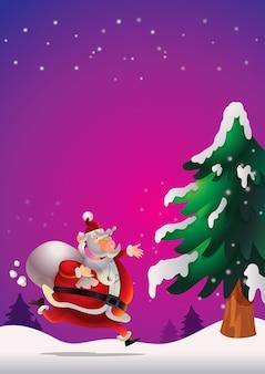 Weihnachtsmann poster