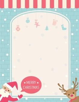 Weihnachtsmann sagt weihnachten