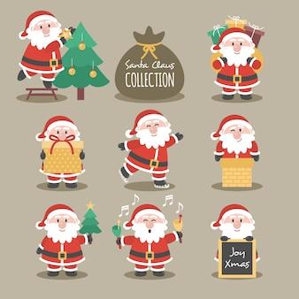 Weihnachtsmann-sammlung
