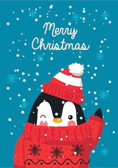 Weihnachtsmotiv-postkarte und karte, die frohe weihnachten wünschen