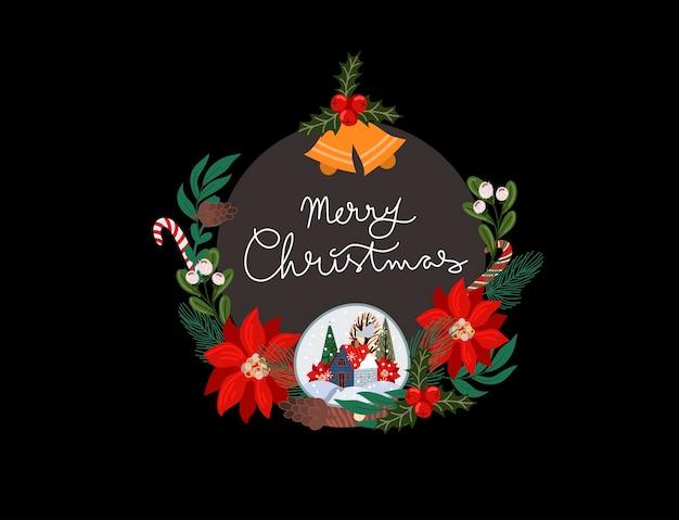 Weihnachtsmotivgruß