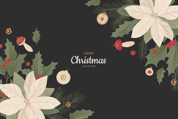 Weihnachtsmotivhintergrund
