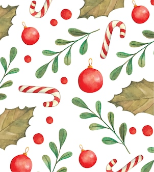 Weihnachtsmuster eingestellt