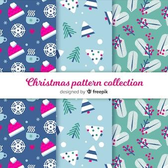 Weihnachtsmuster-kollektion