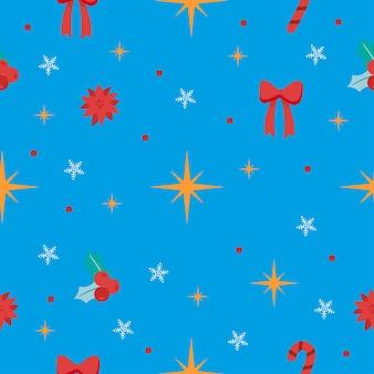 Weihnachtsmuster vektorgrafiken
