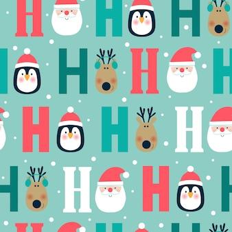 Weihnachtsnahtloses Muster.
