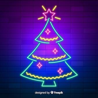Weihnachtsneonbaum