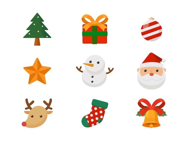 Weihnachtsniedliche karikatur für kartenwerbetagszeichensymbolkarikatur