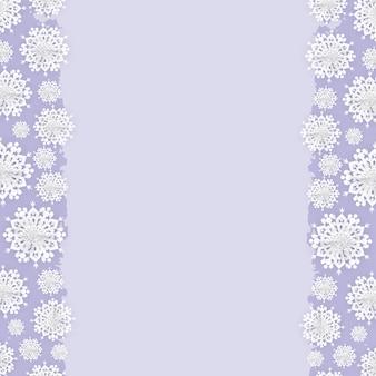 Weihnachtspapier-schneeflocke-feld-hintergrund
